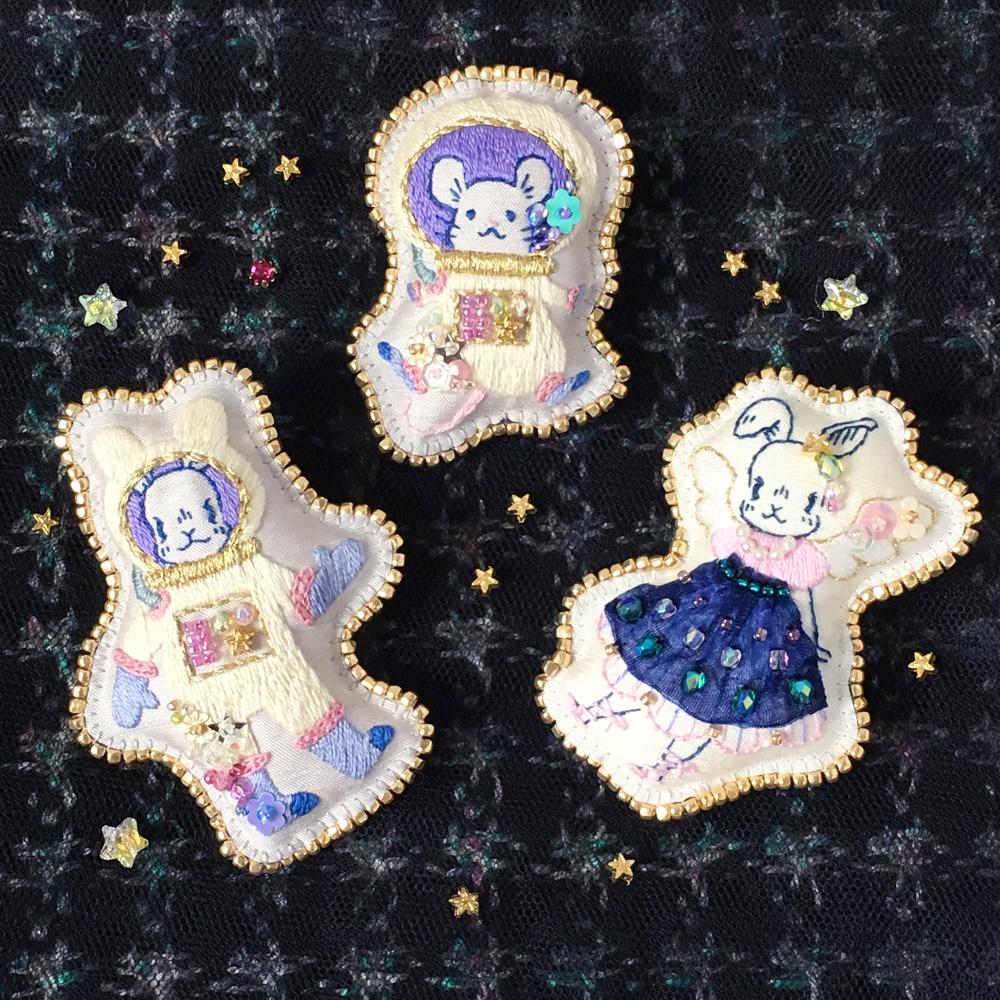 【あと7日!】三人展 おめかしノクターン♪作品紹介2